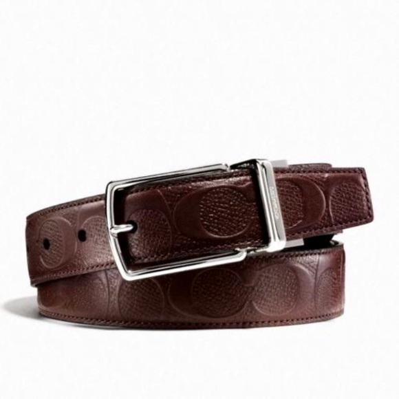 Coach Other - Coach Mens Modern Signature Cut To Size Belt
